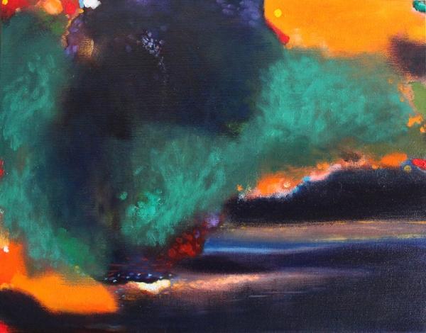John Sheehan Memories of a Dream (2012) oil on linen, 62 x 80 cm