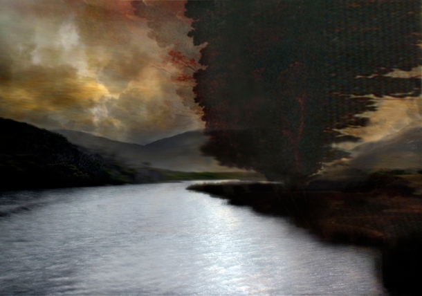 Sophia Szilagyi nature hesitate (2009) pigment print, 140 x 200 cm