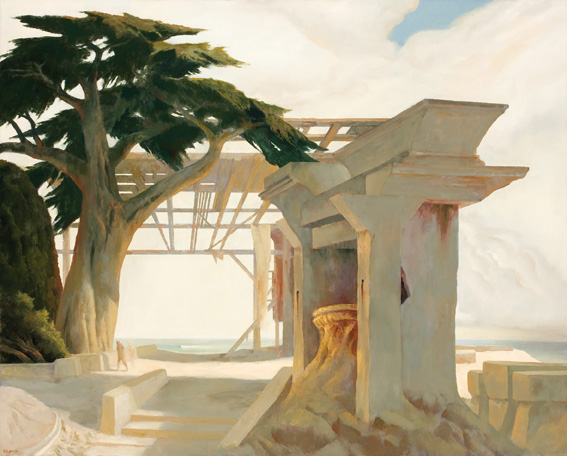 Rick Amor, Ithaca, 2011, oil on canvas, 130 x 162 cm. Courtesy the artist and Niagara Galleries, Melbourne.