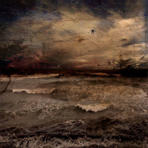 Troy Ruffels Sea #3, 2013 archival solvent based print on composite aluminium sheet, 107 x 107 cm