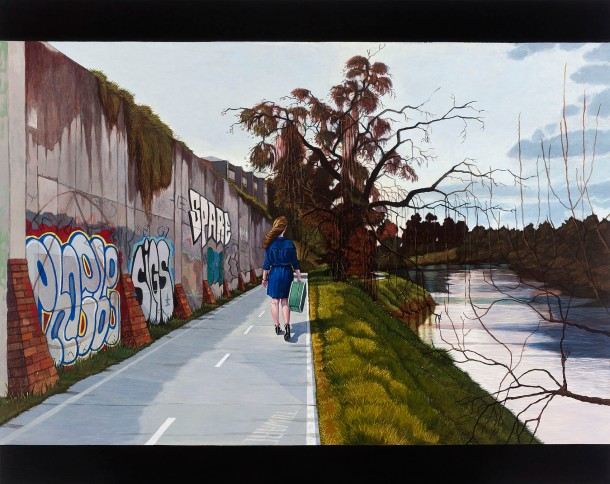 Eolo Paul Bottaro Towards, 2013, oil and egg tempera, 110 x 138 cm
