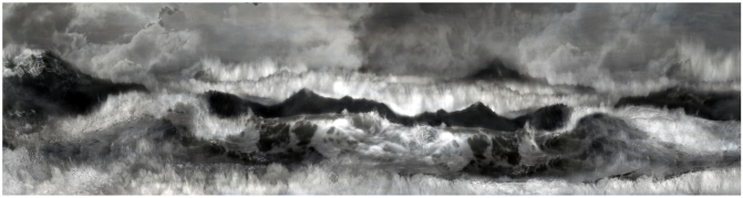 Sophia Szilagyi evening waves 2013, pigment print on archival rag