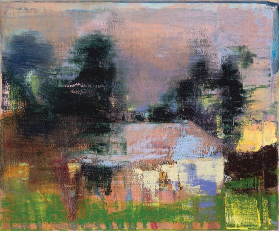 Susan Baird, Cameo 2013, oil on linen, 30 x 35 cm