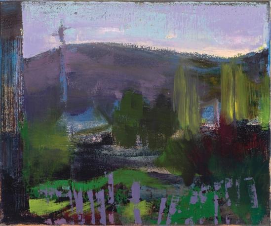 Susan Baird, Hamlet 2013, oil on linen, 30 x 35 cm