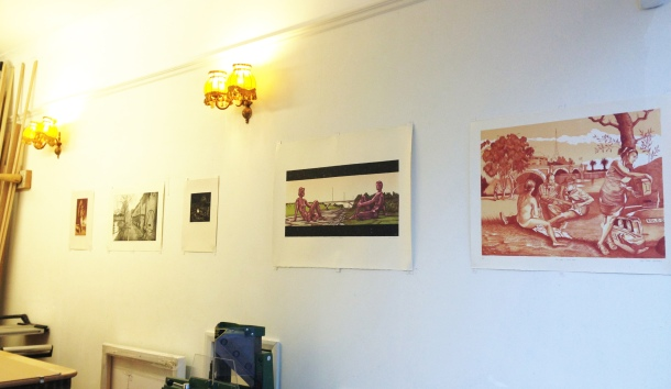 Lithographs and Etchings by Eolo Paul Bottaro, January 2015.