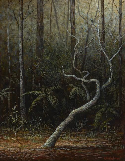 Adam Nudelman, Last to know, 2016, oil on panel, 27.5 x 22.8 cm