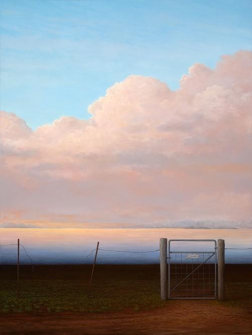 Adam Nudelman, No paradise found, 2015, oil on linen, 120 x 91.5 cm