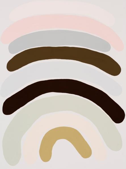 Kirra Jamison, Bow 2, 2016, gouache on paper, 76.0 x 56.0 cm